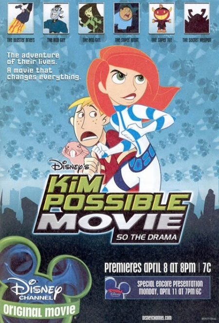 Kim Possible Movie So The Drama